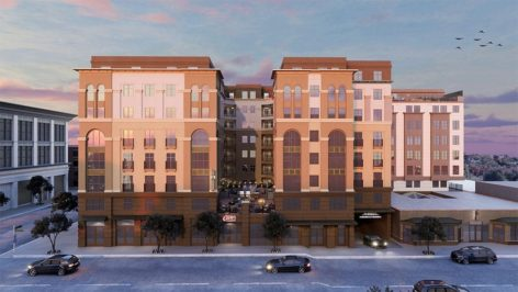 Exterior render of The Standard at Berkeley